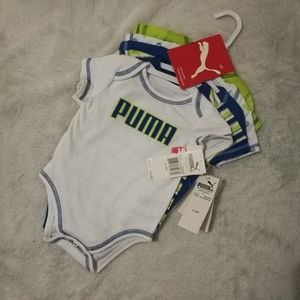 5 pack of puma baby undershirts